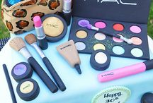 Cute cakes - Make Up and Nails... / by Dena Galley