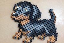 Perler - dogs