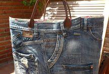 sewing a handbag