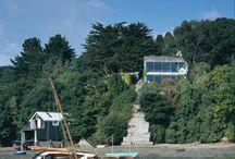Creek Vean house  - Cornwall