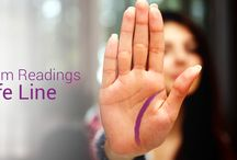 Palm Readings / The lines on your palm provide significant insights about your unique personality and future. From life lines to love lines, health lines and beyond, the answers you've been looking for are in the palms of your hands. Find out what your lines can tell you about yourself with an online palm reading today.