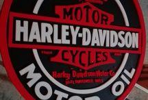 HD & Bike Decor / decoracion al estilo biker