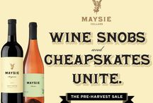 Wine Specials / Special offers, holiday promotions and big discounts on Maysie Cellars' handmade, certified Organic wines. Check back often to see what's on the specials board!