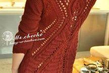 Swetry / Modele swetrów z sieci