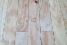 Plywood floors