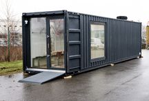 Container restaurant / Our restaurant is built from a freight container. Plug and play, portable, 10 seats indoors and built to be used all year round. Eight tons of steel and love!