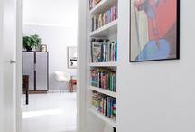 House Ideas - Bookshelves - floating