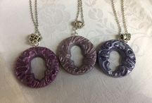Polymer necklaces and Pendants by Nado & Lola