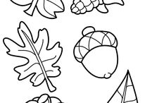 Coloring pages for automn