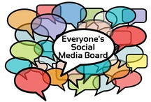 Everyone's Social Media Resource / A Social Media Board For Everyone. If you want to be added to the Group send me an email with your Pinterest URL and I'll add you as a collaborator.