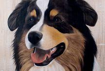 Pinturas de Lindos Cachorros