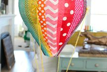"""Hot Air Balloon Decor for Retreat / 2015 Women's Retreat features a hot air balloon theme. Because Jesus has saved us, we are """"Untethered"""". Some pins are here for color ideas,others for their shape, and some an actual DIY balloon."""
