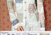 crochet casaco