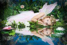 Fairy inspo / Inspiration for themed mini photo shoots