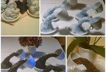 kávéscsésze dekoráció