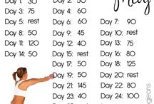 Exercise: bum and legs