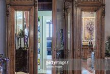 office door from hallway