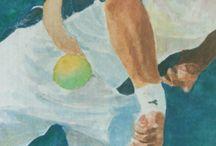 "Agustin Calleri (ARG) ""Detalles"" / Detalles del original. ver tablero Jose Maria Díaz Tennis"