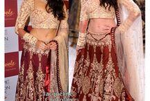 Lehengha / Latest Bridal Lehengas, Lehenga choli and Ghaghra Choli designs