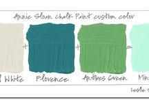 Chalk paint colors