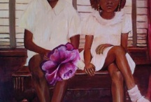 Pictures Tell The Story~African Americans / The African American art work is a reflection of skillfully weaving dramatic stories into the fabric of the America, as they see it.  / by Twanna Fennell
