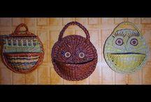 Видео мастер-классы по плетению / Плетение из гзетных трубочек, лозы