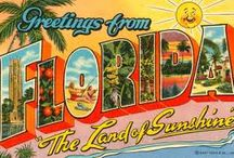 Florida ☀ / I ❥ the Sunshine State.  / by Doreen 🌴