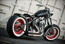 Bobbers / Cool custom Bobber motorcycles