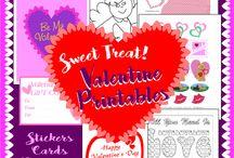 Printables: Valentine's Day