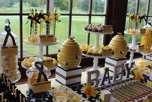 Candy Buffet Table Ideas / Candy Buffet Table Ideas for Quinceaneras, Weddings, Birthday Parties, and Baby Showers at http://bit.ly/2aRRlKd