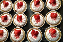No bake strawberry cheese cake / Recipe