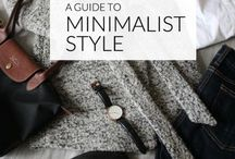 minimalist style / Learn to create a style that is minimal and fashionable.