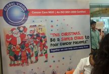 Global Vision NGO / Global Vision is doing many Cancer awareness events in the city. Here anyone can fill some of them