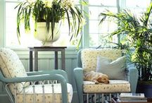 Sun Porch / Colors I want for the porch / by April Foos