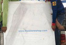 หินไวท์วีนัส สั่งทำ ท็อปโต๊ะ ขนาด 1 เมตร x 1 เมตร / หินไวท์วีนัส สั่งทำ ท็อปโต๊ะ ขนาด 1 เมตร x 1 เมตร