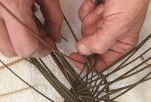 плетеное крышка