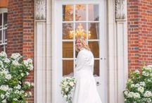 Real Bride - Claire and Steffen / Or beautiful real bride Claire has wore a gown by Diane Legrand.