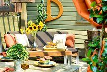 Outdoor decor / by Ari Davis