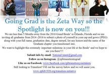Zeta Undergraduates Transition to Graduate Chapter / Members of the Sisterhood graduating and transitioning into a Graduate Chapter.