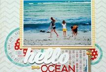 Scrapbook Layouts - Summer/Beach