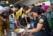 Akshaya Patra Kitchen Facility in Nepal / Akshaya Patra has started its kitchen in Bhaktapur, Nepal. It is to serve the food for the earthquake affected people in Nepal. The project is started in collobaration with Tata Trust and SSS.