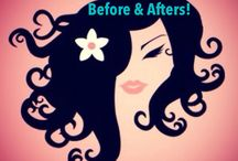 Curly Hair Videos / Instructionals, how to's, before and after pictures...