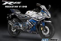 Modifikasi R15 - Striping Yamaha R15
