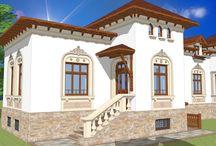 case in stil Neoromanesc