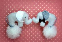 Ozdoby na tort weselny ♡ Cake toppers