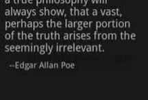 All things Poe / by Tiffany Daugherty
