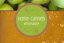 Preserving Food / Eating right by harvesting when it's in season and preserving it for later.