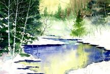 Painting Ideas - Watercolour