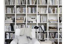 Library & shelves