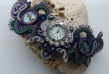 Soutache Wrist Watch